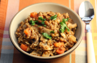 Brown-rice-lentils
