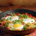 Shakshuka: eggs in fiery tomato sauce {vegetarian, gluten-free}