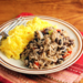 Recipe for Costa Rican gallo pinto (black beans and rice) {vegan, gluten-free}