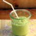 Kale avocado breakfast smoothie recipe {vegetarian, gluten-free}