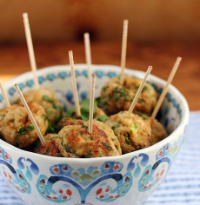 Spicy chicken balls: bet you can't eat just one! #appetizer