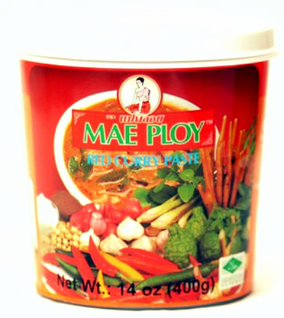 Thai red curry paste.