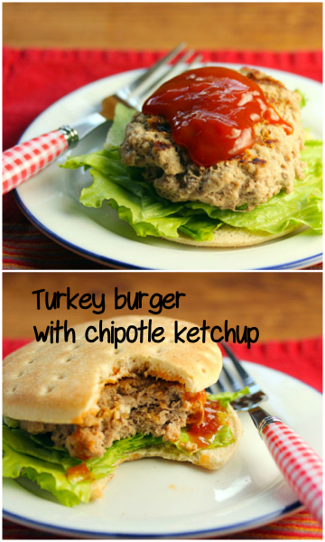 Spice up your burgers with some smoky chipotle ketchup!