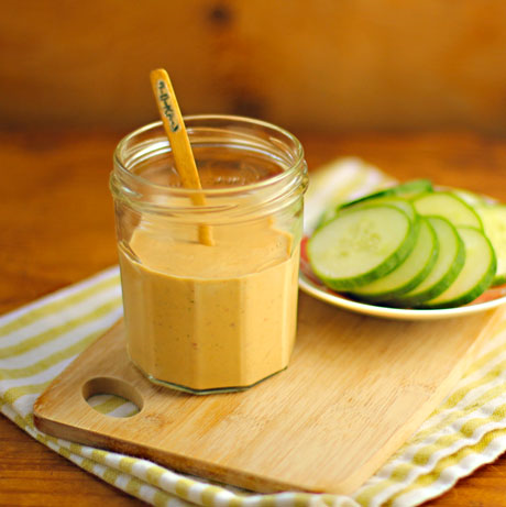 Chipotle ranch dip or dressing, for salads or sandwiches. Zingy!