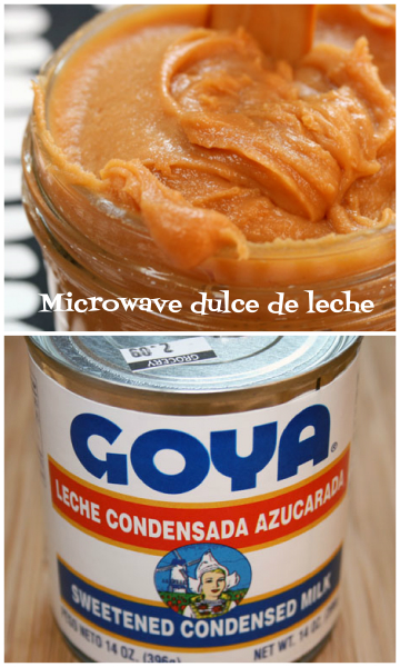 Make dulce de leche in the microwave!