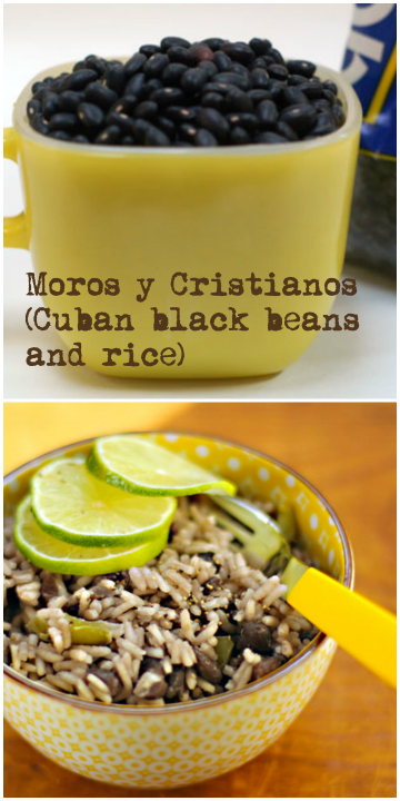 Cuban black beans and rice: muy delicioso!