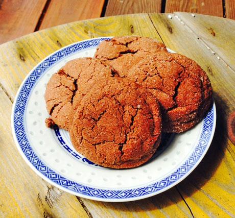 Cinnamon chocolate crinkle cookies: kid-tested, parent approved!