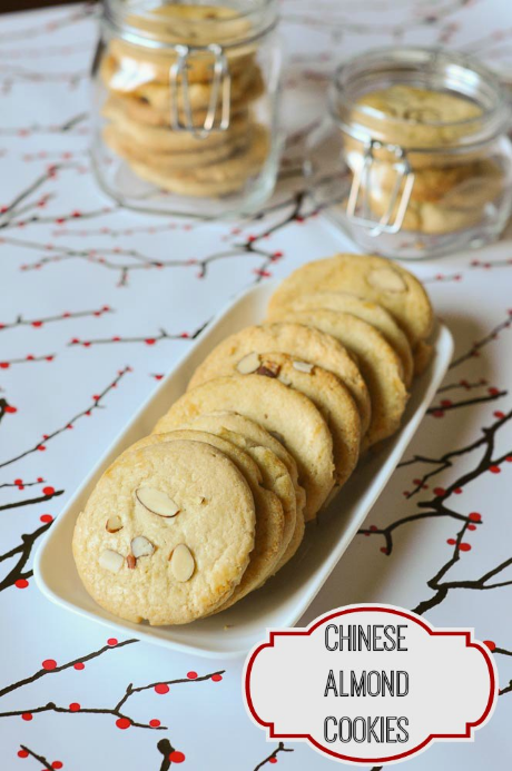 Chinese almond cookies, so light and delicious.