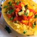 Confetti spaghetti squash with peppers, zucchini, lemon and capers {vegan, gluten-free}