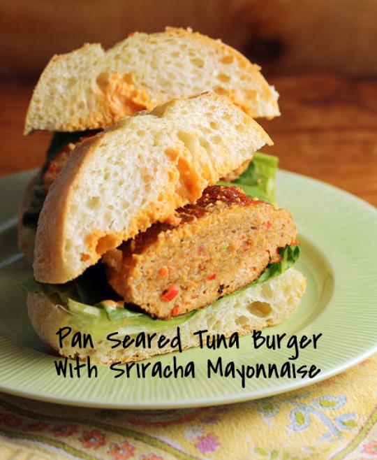 Make sure you slather on plenty of spicy Sriracha mayo!