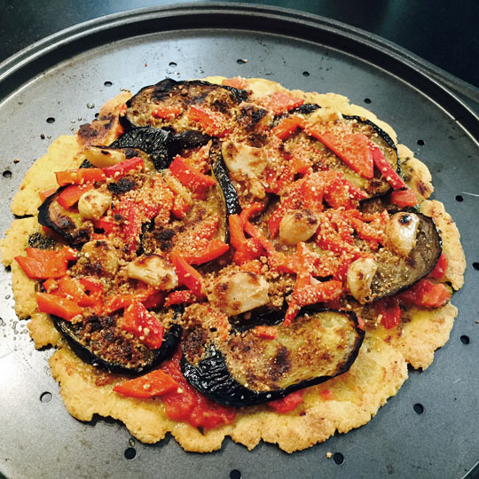 Gluten-free pizza made on the stovetop, in the oven, or on the grill!