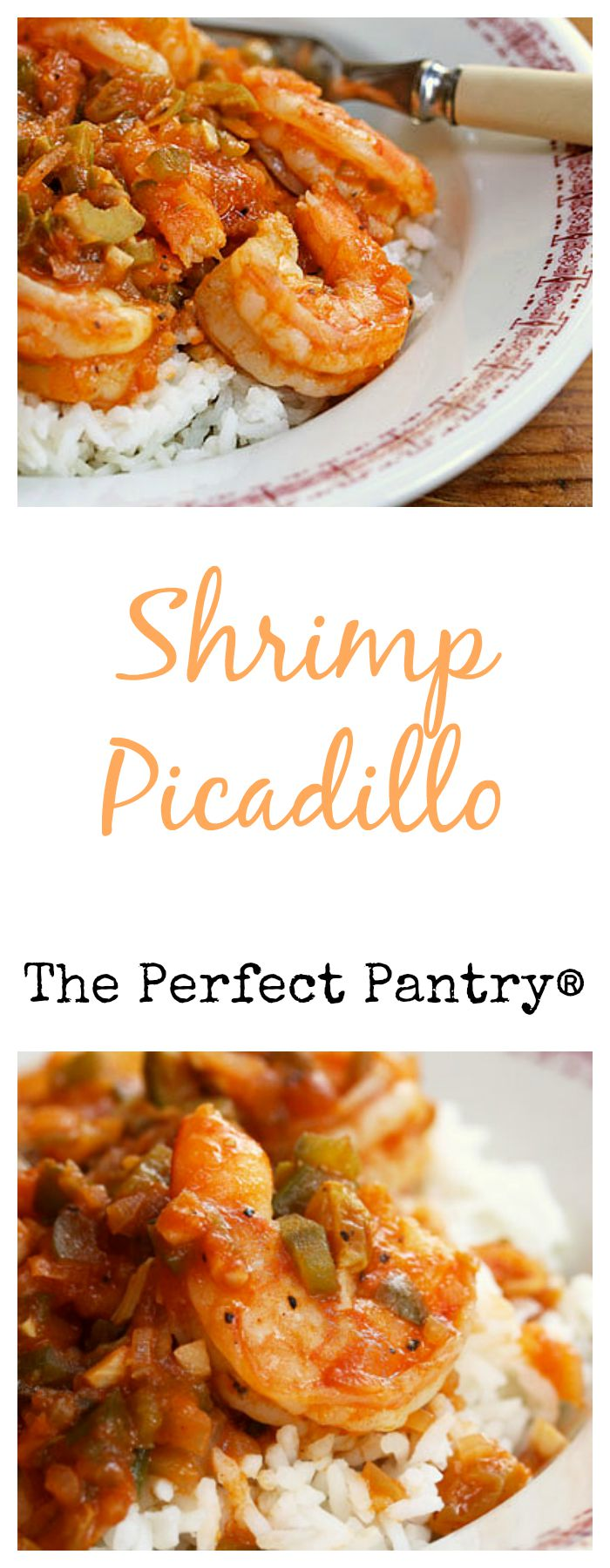Shrimp picadillo, a simple dish with a Cuban twist, from The Perfect Pantry.