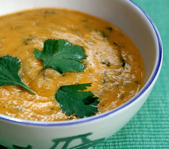 Bouktouf, an Algerian soup, is perfect for Meatless Mondays. #vegan ThePerfectPantry.com
