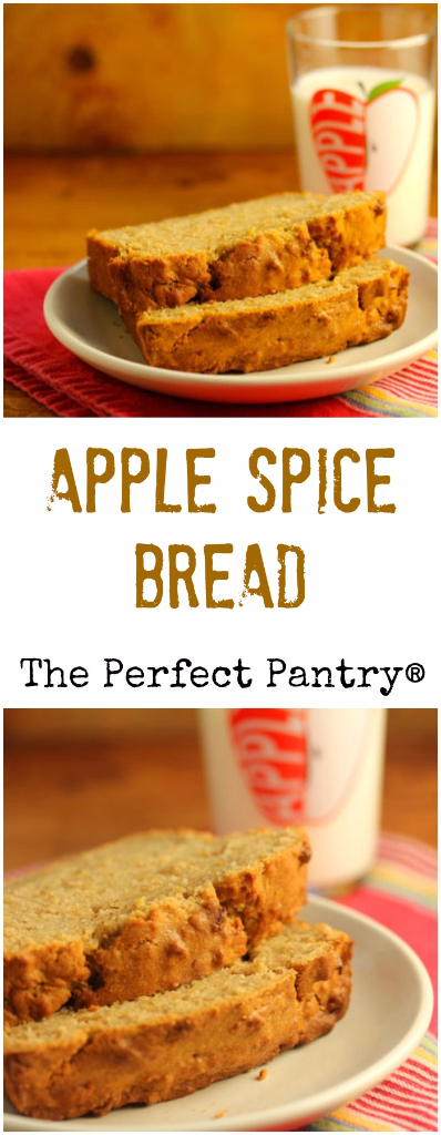 My family's absolutely favorite apple spice bread (it's really a cake!).
