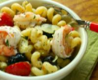 Shrimp-artichoke-pasta-lemon-poppyseed-dressing