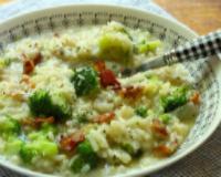 Bacon-broccoli-risotto