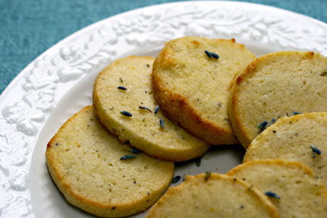 Lemon lavender cookies: unusual and delicious!