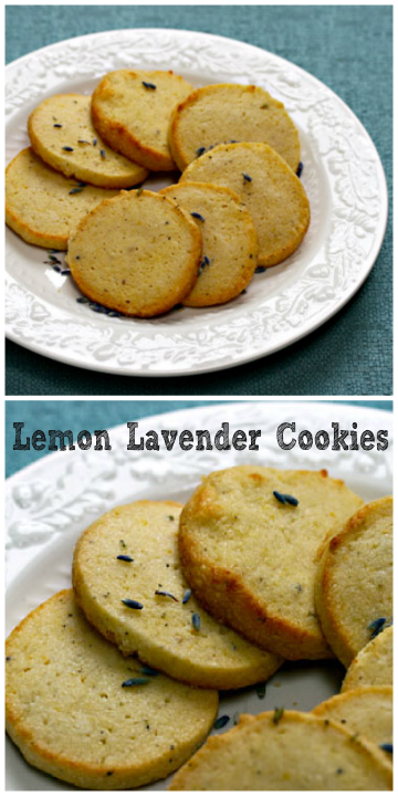 Something delightfully different: lemon lavender cookies.