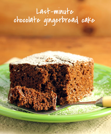 Chocolate and gingerbread, not too sweet but perfect for afternoon snacks.