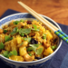 Thai pineapple fried rice {vegetarian}