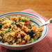 Mediterranean couscous, tomato, cucumber and feta salad {vegetarian}