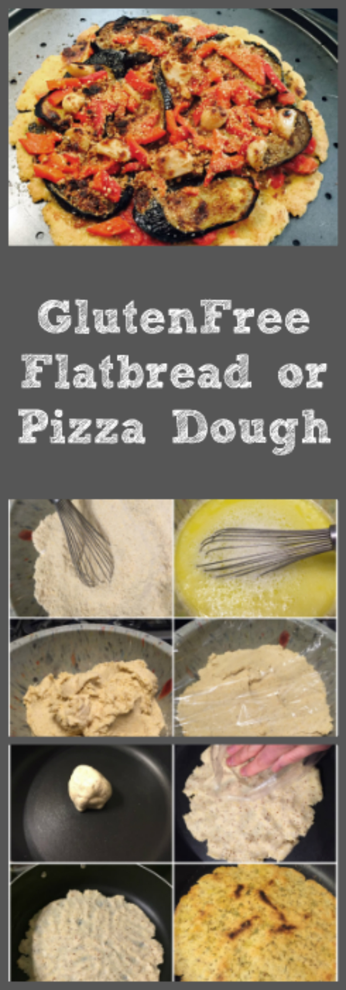 Gluten-free make-ahead-and-freeze flatbread or pizza dough, from The Perfect Pantry.