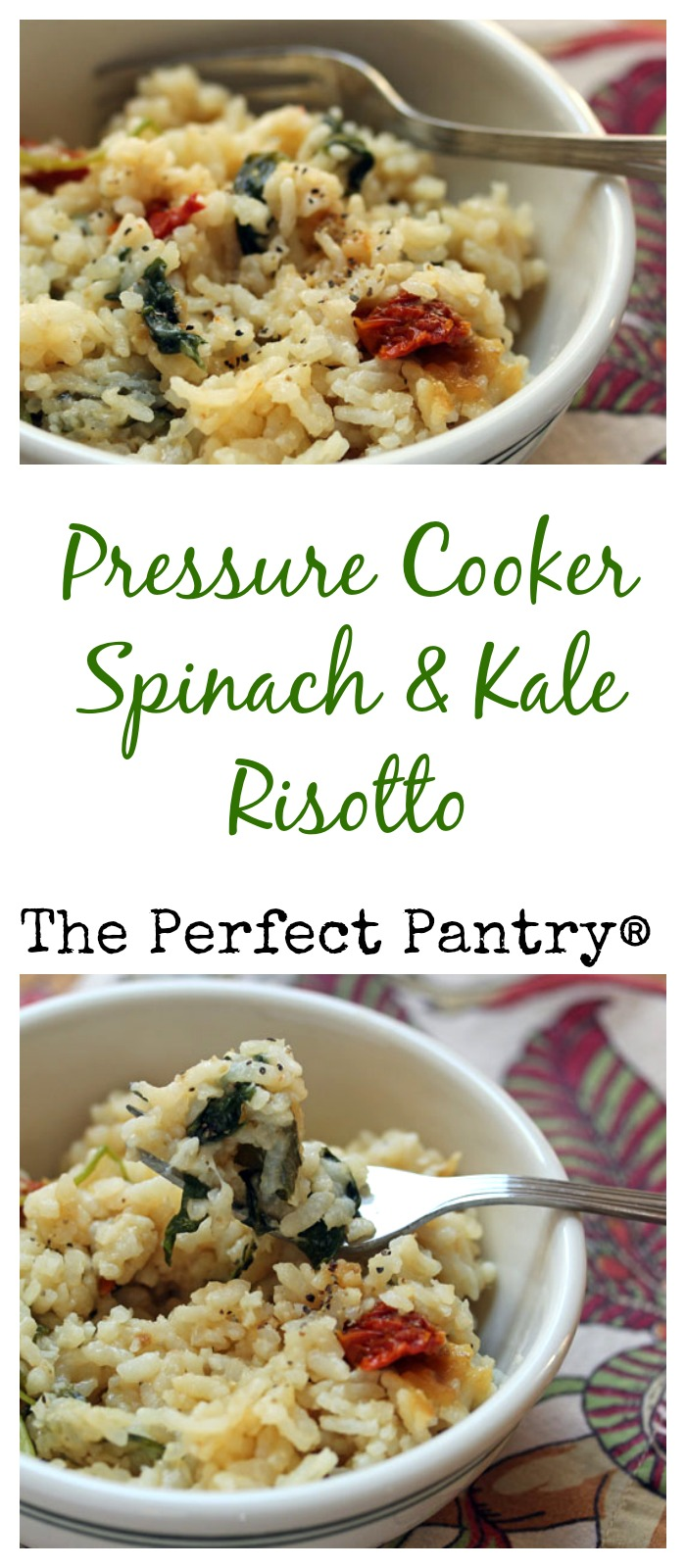 Make this risotto in less than 30 minutes: no stirring! #vegetarian #glutenfree