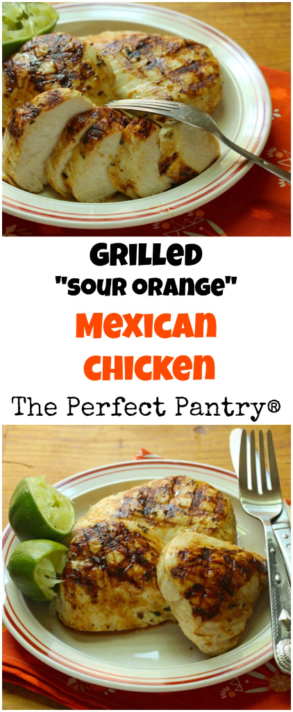 Grilled chicken breasts with Mexican flavors, a fun start to any summer cookout!