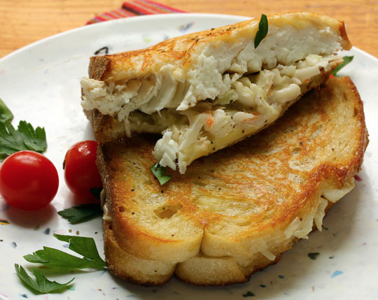 What do you get when you cross a fish sandwich with a grilled cheese? This!