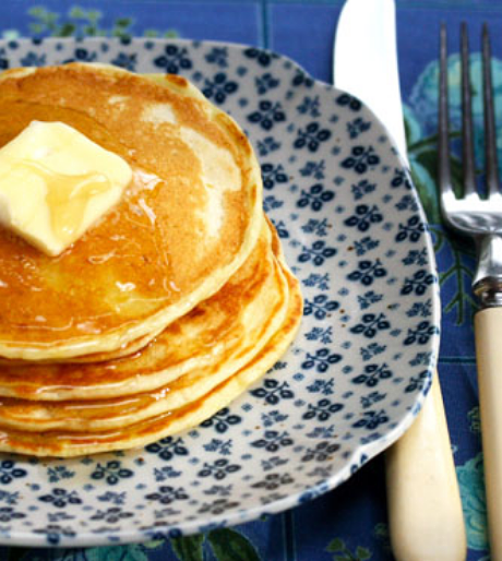Lemon buttermilk pancakes: breakfast for grown-ups.