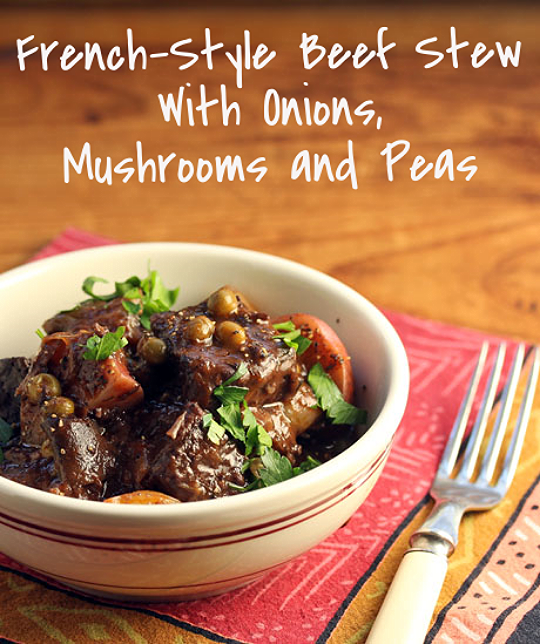 French-style beef stew, a great make-ahead dish.