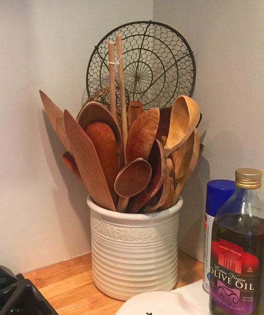 Wooden-spoons
