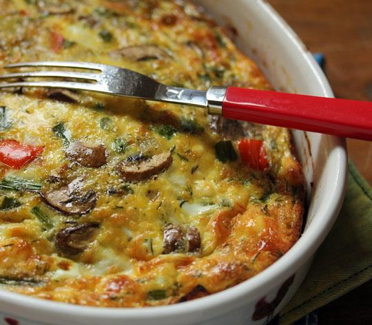 Vegetable Egg Breakfast Casserole: Vegetarian Egg Casserole Recipes