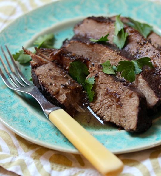 Grandma's beef brisket makes the world's best sandwiches!