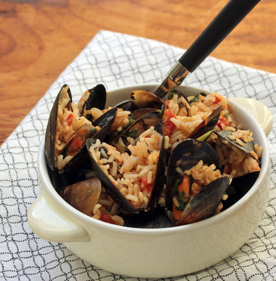 Easy to prepare, and most of the ingredients are already in your pantry. Just add mussels! [ThePerfectPantry.com]