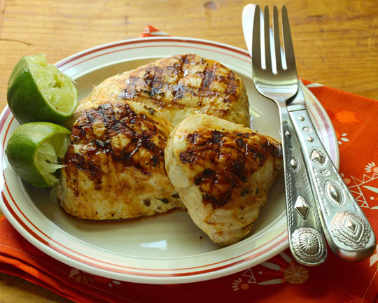 Try this chicken with south-of-the-border flavors for your next cookout.