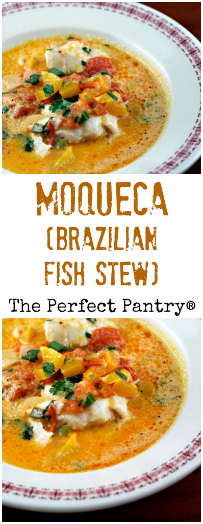 Make this Brazilian fish stew with any white fish that looks good at the market.
