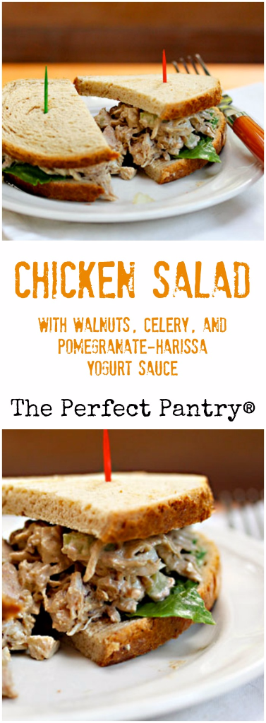 Use leftover rotisserie chicken to make this chicken salad with Middle Eastern flavors.
