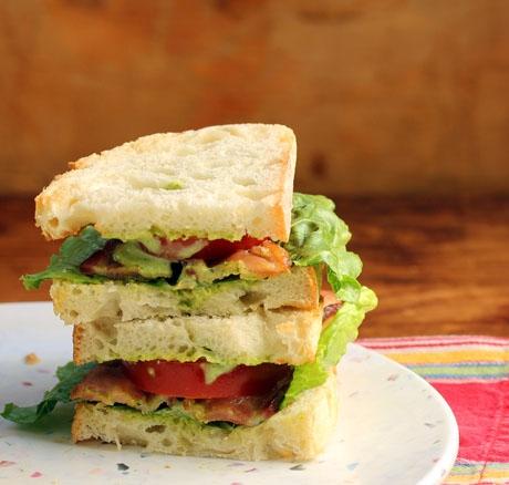 Green Goddess BLT, an ethereal sandwich!