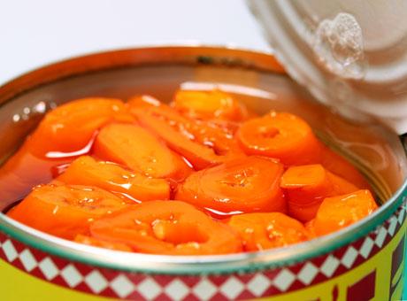 Aji amarillo peppers