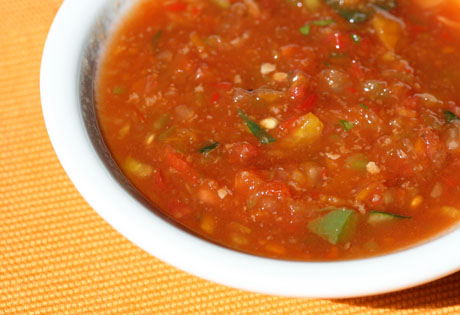 Recipes for gazpacho